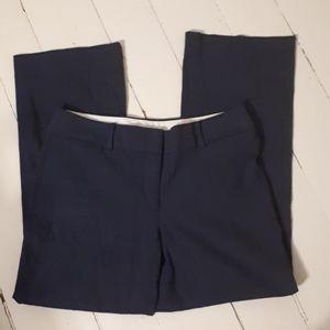 Loft. Blue polyester/Viscose/linen. Size 10
